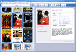 Video Database - Thumbnails view